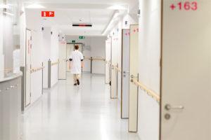Gang in het Europaziekenhuis